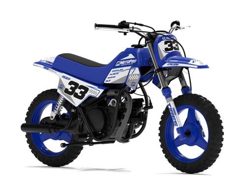 MotoPro Graphics Yamaha PW50 BOOST BLUE Series Graphics