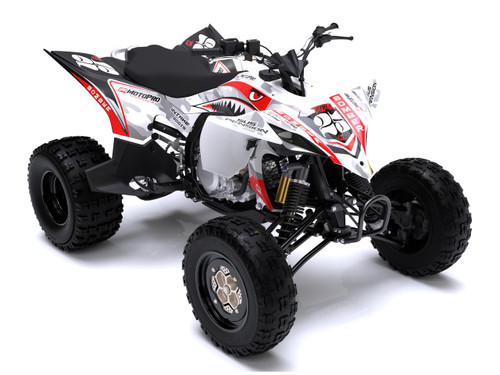 MotoPro Graphics Yamaha YFZ450 Quad ATV Full Graphics Set - BOMBER