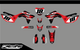MotoPro Graphics Honda CRF450R Dirt Bike Grunge Series Graphics