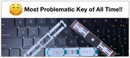 Apple MacBook Pro Space Bar Key - Most Problematic of All Time
