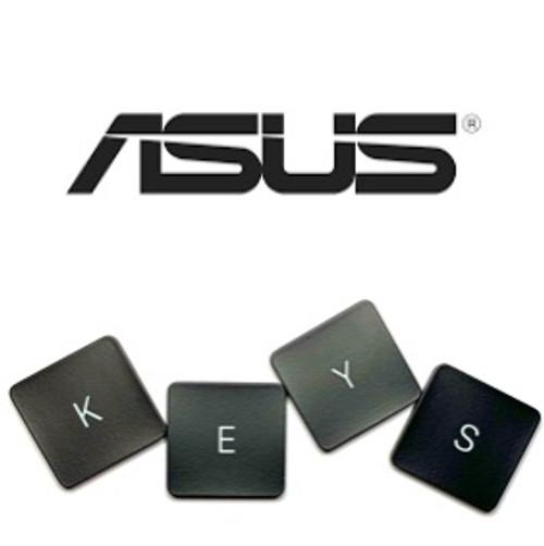 Zenbook UX31A-AB71 Laptop Keys Replacement (Dark Brown/Black)