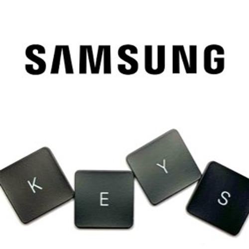 740U3E Laptop ATIV 7 Keyboard Key Replacement (Silver Keys)