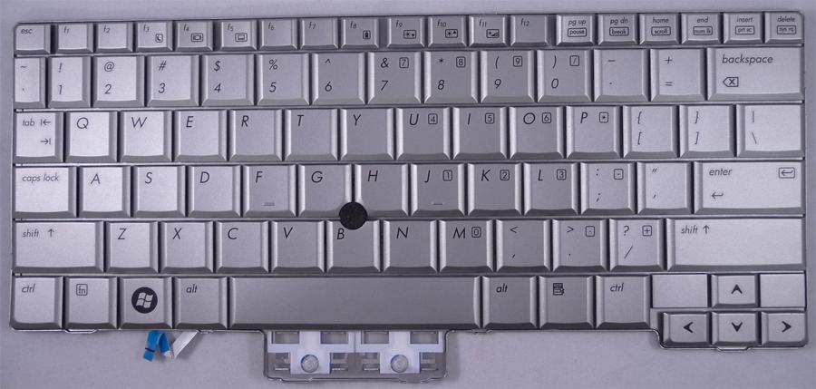 HP Elitebook 2730p Laptop Keyboard Keys Replacement