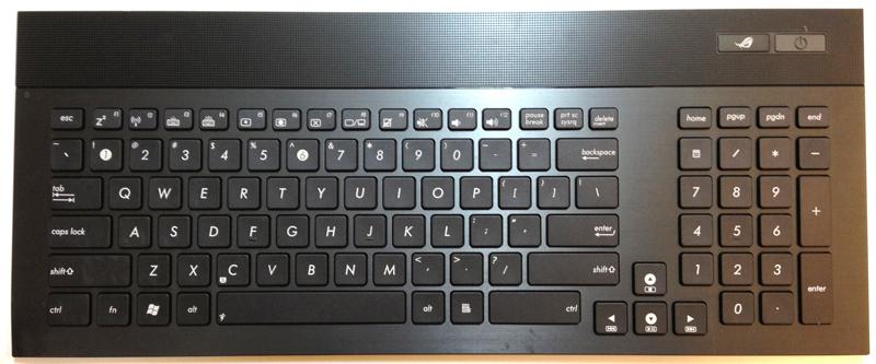 Asus G74 Laptop Keyboard Key Replacement