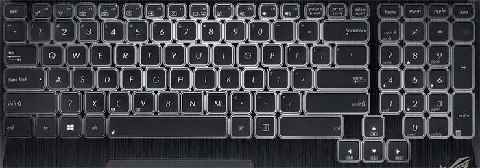 Asus G750 Laptop Keyboard Key Replacement