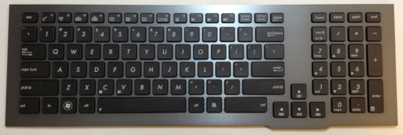 Asus G75V Laptop Keyboard Key Replacement