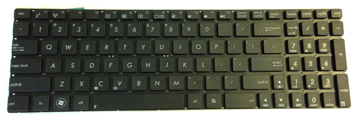 Asus S56 Laptop Keyboard Keys Replacement