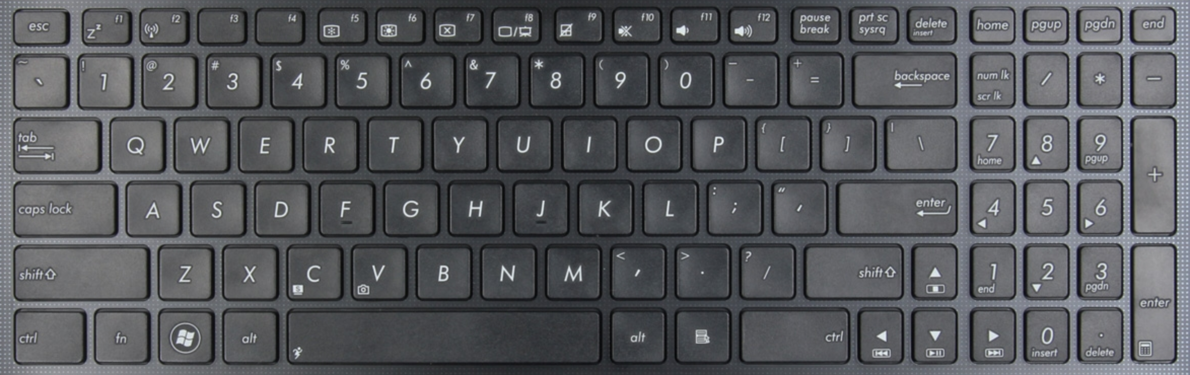 Asus X501 Laptop Keyboard Key Replacement