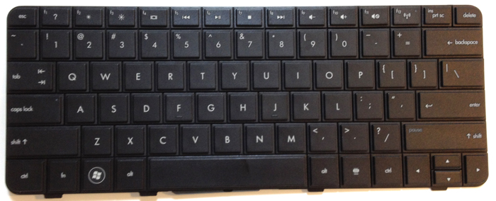 Compaq CQ32 Laptop Keyboard Key Replacement