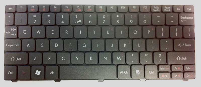 Gateway Keyboard Keys
