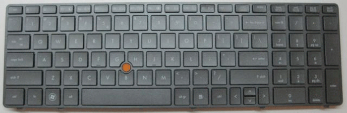 HP EliteBook 8770w Laptop Keyboard Keys Replacement