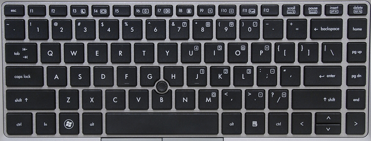 HP EliteBook 8460P Laptop Keyboard Keys Replacement