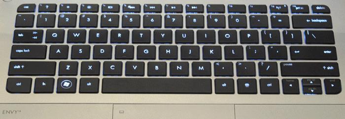 HP ENVY 14 Spectre Laptop Keyboard Keys Replacement