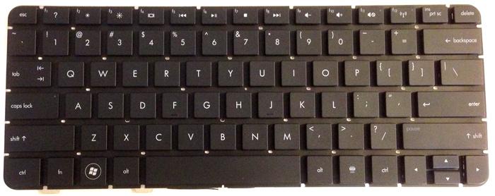 HP TouchSmart TM2 Replacement Laptop Key