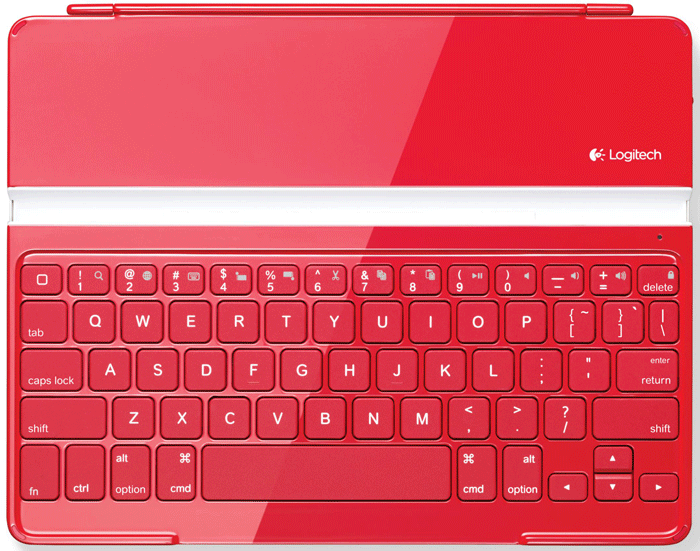 Logitech Ultrathin iPad Cover Keyboard Keys Replacement (RED)