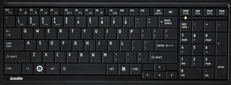 L755 Laptop Keyboard Key