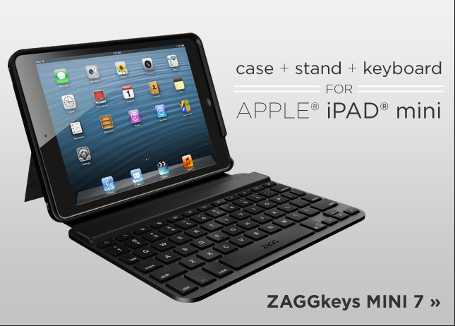 ZAGGKeys iPad Mini Keyboard Key Replacement
