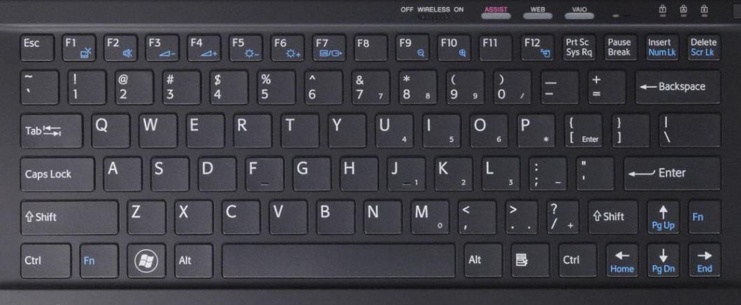 Sony VPCZ2 Laptop Keyboard Key Replacement