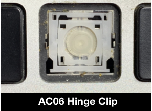 ac06 hinge clip for retina macbook pro key replacement