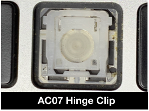 ac07 clip for retina macbook pro laptop key replacement