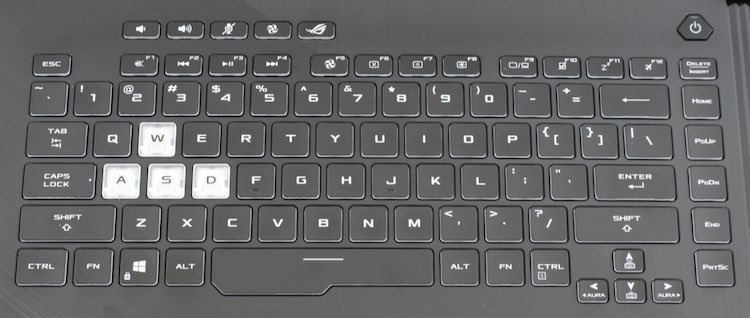 asus GL531GU keyboard key replacement