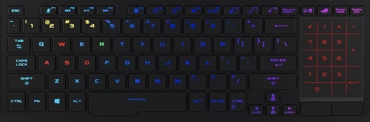Asus ROG Zephyrus GX501 Keyboard Key Replacement