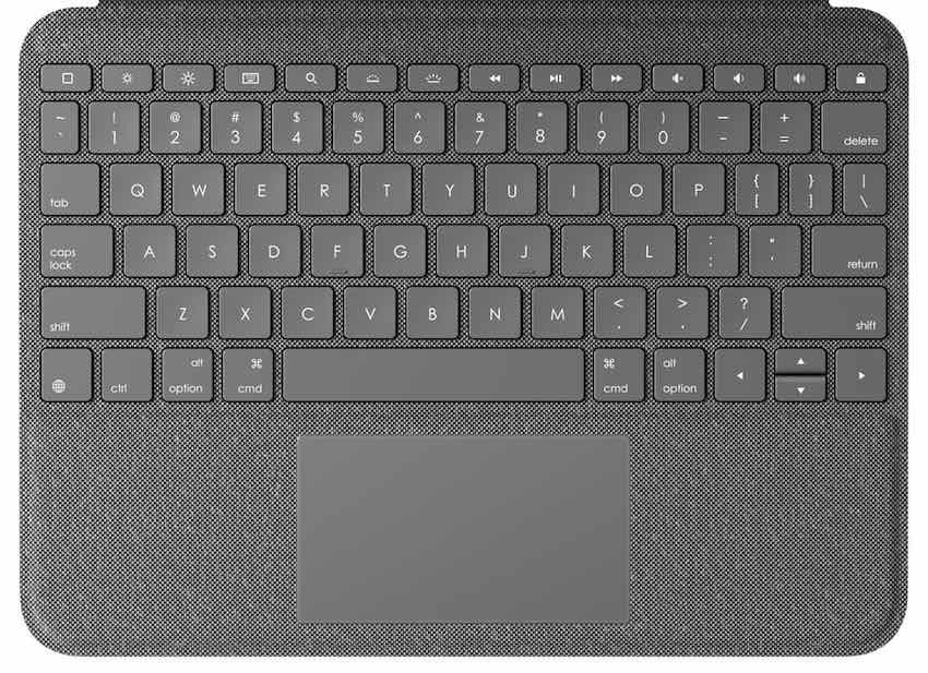 Logitech folio touch keyboard key replacement