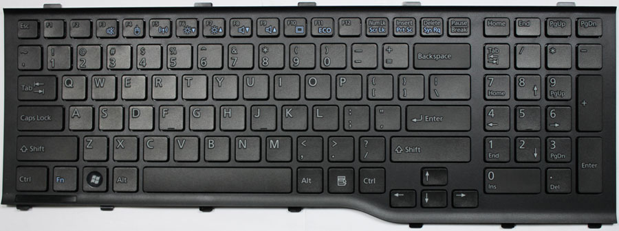 Fujitsu Lifebook AH532 Laptop Keyboard Key Replacement