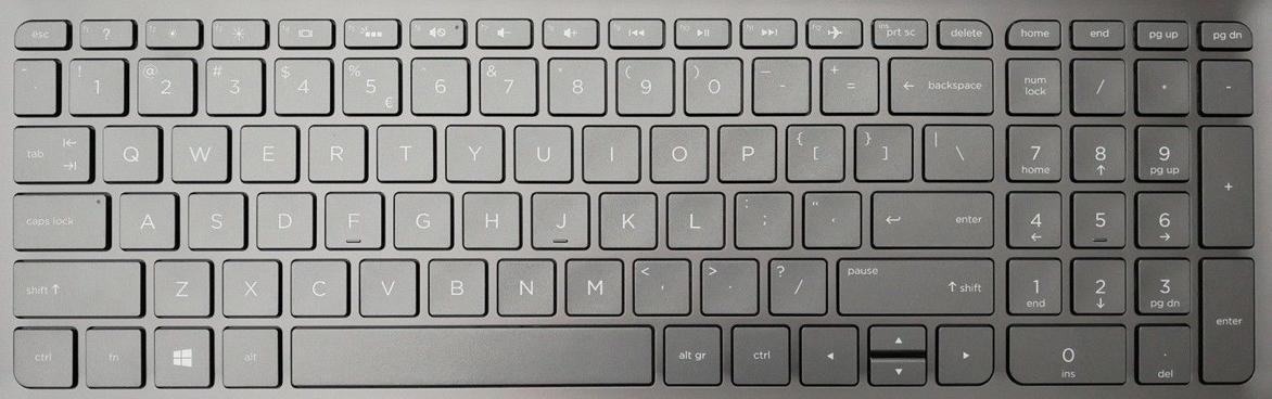 HP 15-AR052SA Keyboard Keys Replacement