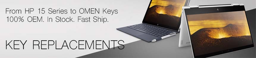 Full line of HP laptop keys in stock