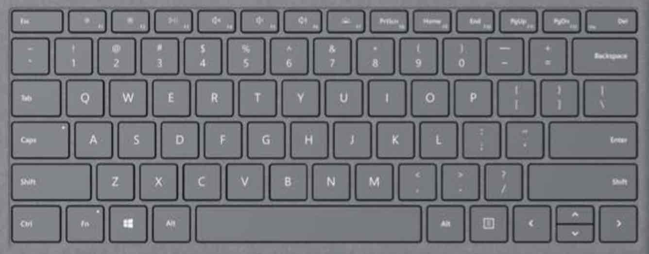 Microsoft Surface Pro 7 Keyboard Key Replacement