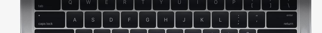 Apple 2016 MacBook Pro Keyboard