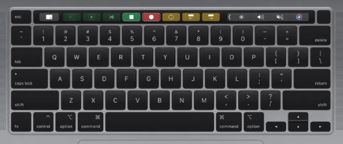 "Apple 16"" MacBook Pro Keyboard Key Hinge Clip"