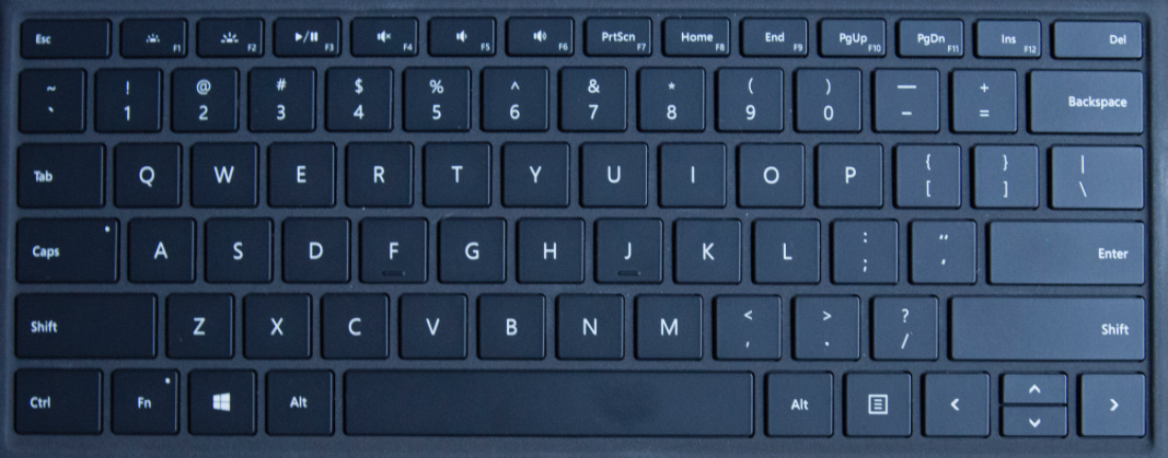 Microsoft Surface Pro 4 Cover Keyboard Key Replacement