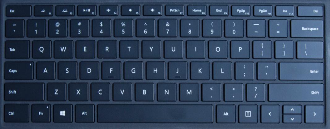 Microsoft Surface Pro 5 Keyboard Key Replacement