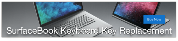 microsoft surface and surfacebook keyboard key replacement
