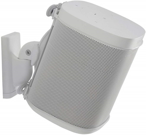 SANUS WSWM21W1 Wall Mount for Sonos ONE, ONE SL, Play:1, Play:3 - White