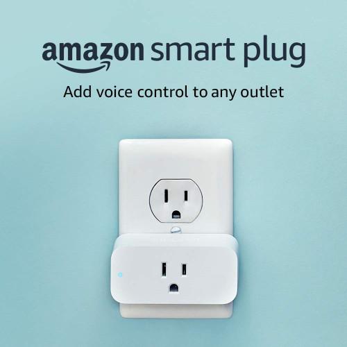 AMAZON AMZPLUGW Smart Plug, works with Alexa