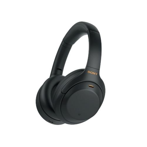 SONY WH1000XM4B Wireless Industry Leading Noise Canceling Overhead Headphones - Black