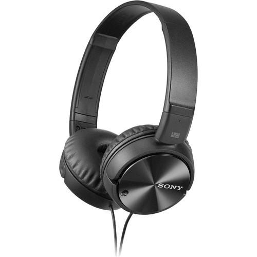 SONY MDRZX110NC Noise Canceling Headphones - Black