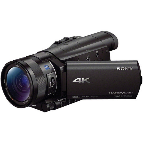 SONY FDRAX100B 4K Camcorder with 1 Inch Sensor