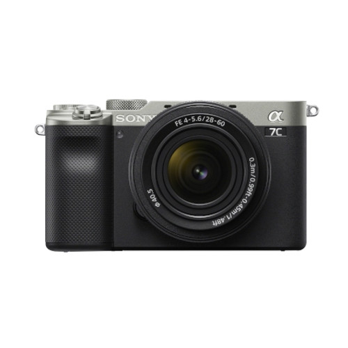SONY ILCE7CLS Alpha 7C Full-frame Compact Mirrorless Camera Kit - Silver