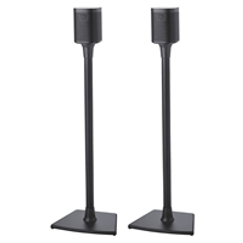 SANUS WSS22B1 Wireless Speaker Stands for Sonos PLAY:1 and PLAY:3 - Pair