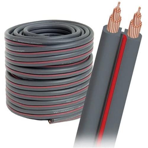 AUDIOQUEST X250FTDG Bulk Speaker Cable Spool 50 Inch - Dark Gray