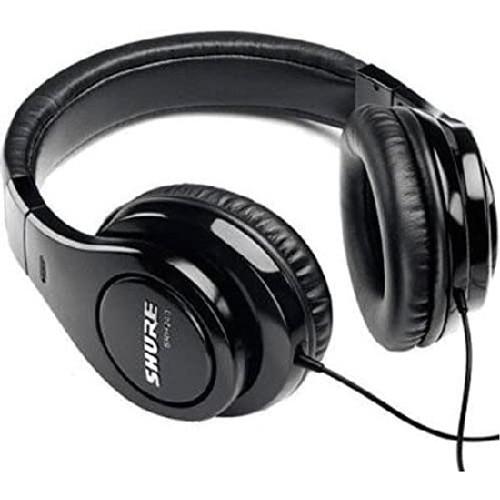 SHURE SRH240A Professional Quality Headphones - Black