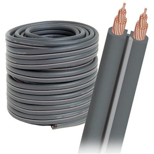 AUDIOQUEST G250FTDG Bulk Speaker Cable Spool 50 Inch - Dark Gray