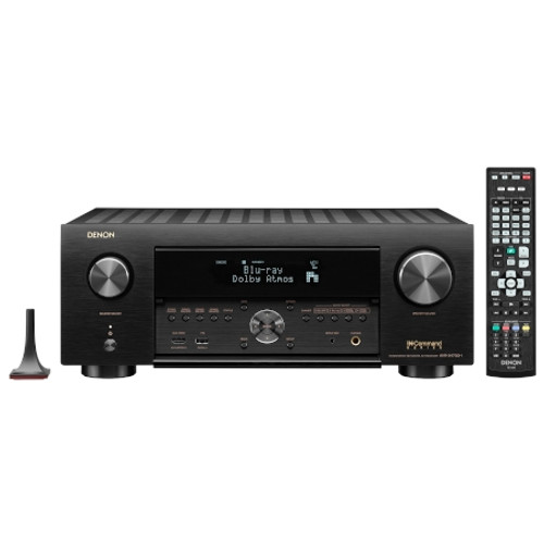 DENON AVRX4700H 9.2 Ch. 8K AV Receiver with 3D Audio, HEOS Built-in and Voice Control