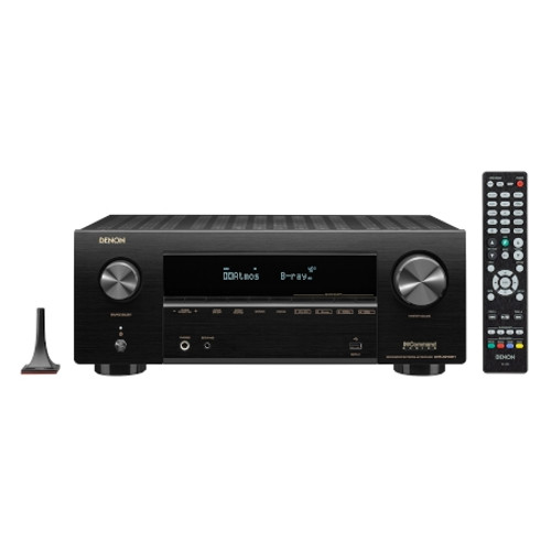 DENON AVRX2700H 7.2ch 8K AV Receiver with 3D Audio, Voice Control and HEOS Built-in