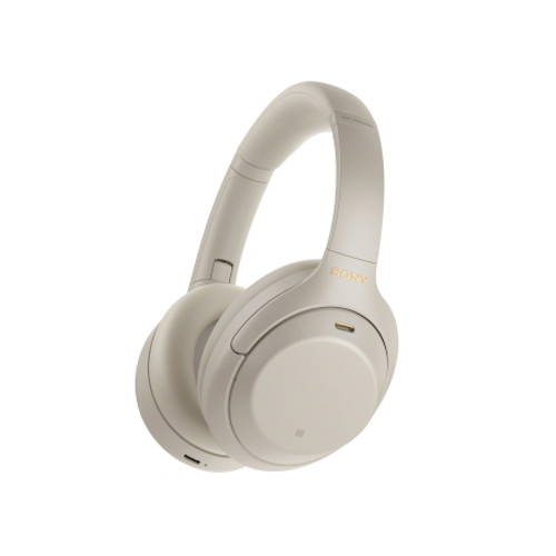 SONY WH1000XM4S Wireless Industry Leading Noise Canceling Overhead Headphones - Silver