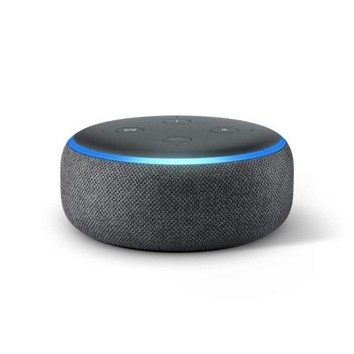 AMAZON ECHODOT3B Echo Dot 3rd Gen - Smart Speaker with Alexa - Charcoal